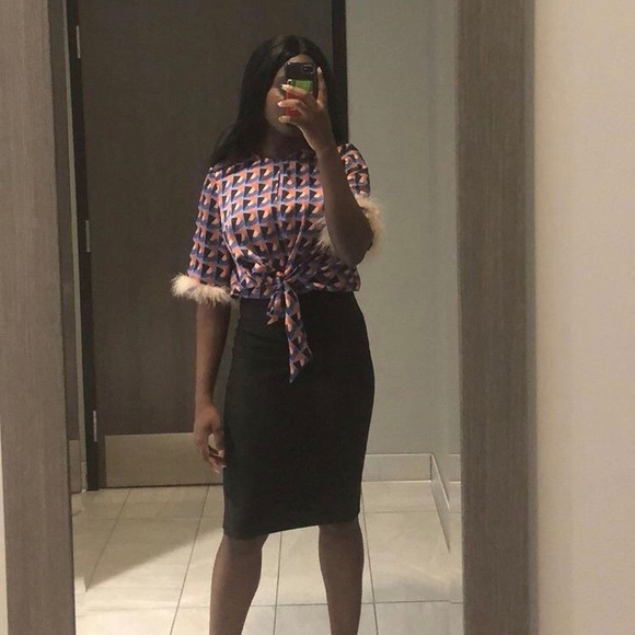 Drill blouse